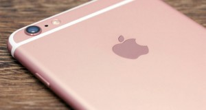 Un iPhone 6s rose Gold Edition