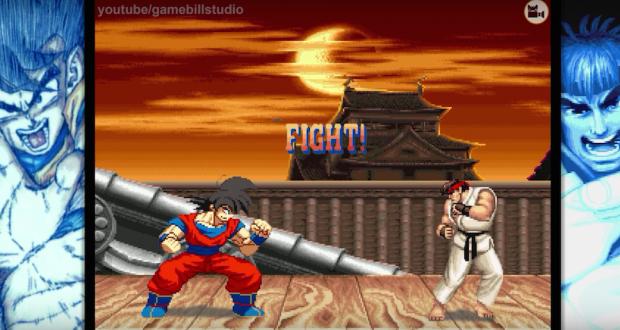 [Vidéo] Quand Goku débarque dans Street Fighter II