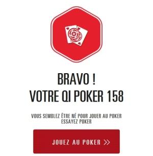 Obtenez votre QI Poker