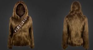 Un sweat à capuche Chewbacca, pour mieux affronter l'hiver !