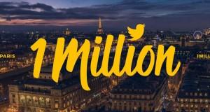 Paris devient la capitale la plus suivie au monde sur Twitter