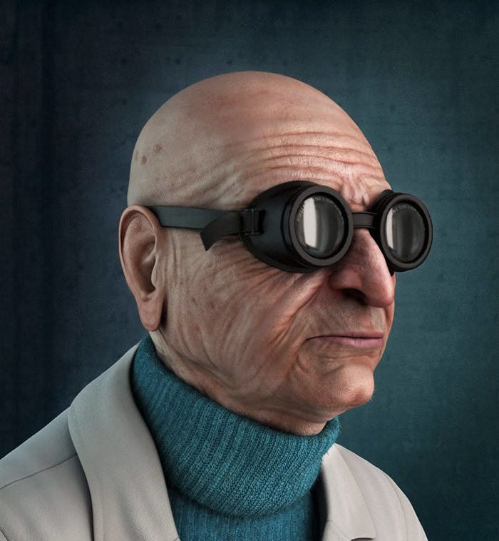 Professeur Hubert J. Farnsworth