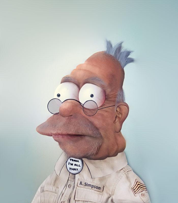 Grand-père Simpson