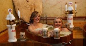 Prenez un bain de bière en République Tchèque !