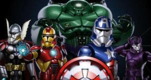 Les personnages Marvel version Stormtrooper