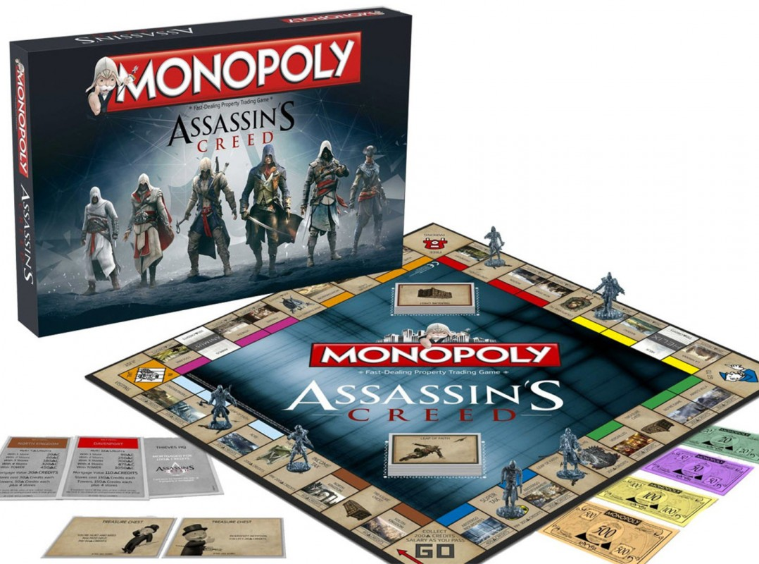 Et maintenant, le Monopoly Assassin's Creed !