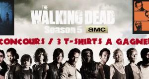 Concours The Walking Dead saison 5, 3 T-shirts à gagner