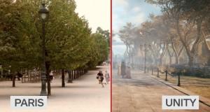[Vidéo] Comparaison entre le Paris IRL et celui d'Assassin's Creed Unity