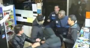 [Vidéo] 3 braqueurs amateurs pris en flagrant délit par la police