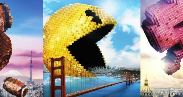 Pixels, le film où des créatures de jeux vidéo attaquent la Terre