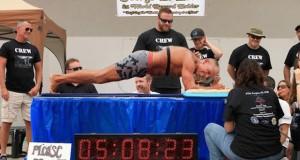 [Record] Cet ancien Marine tient plus de 5 heures en gainage